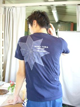 NORA TORA T と 編集長_e0035344_1054075.jpg