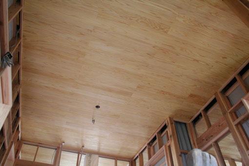 八郎潟の家10:内部と内装下地_e0054299_1541376.jpg