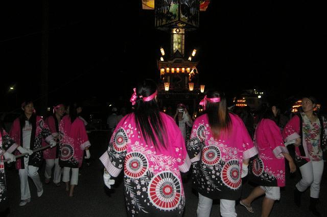 絢爛!燈籠山祭り(2)曳山巡行_d0043136_20112166.jpg