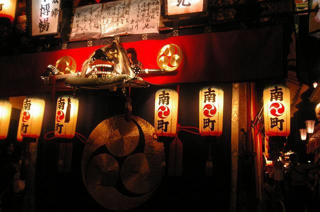 絢爛!燈籠山祭り(2)曳山巡行_d0043136_2034165.jpg