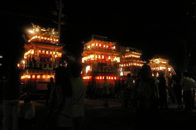 絢爛!燈籠山祭り(2)曳山巡行_d0043136_20513592.jpg
