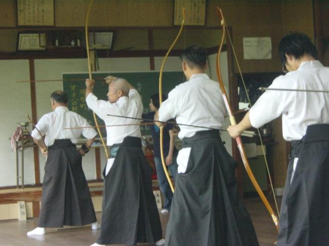 弓道大会_a0063907_21115959.jpg