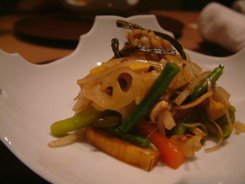 「銀座 六雁(むつかり)で本日の野菜コース」_a0000029_1711447.jpg