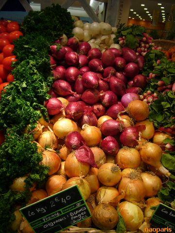 ■スーパーの野菜コーナー(ボルドー)_a0014299_1720410.jpg