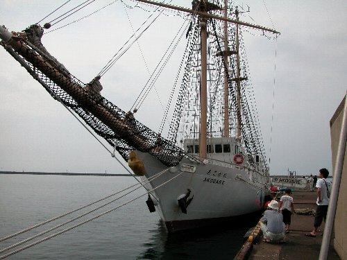 大阪市帆船「あこがれ」_e0087201_22545894.jpg
