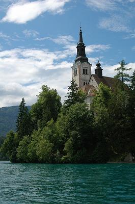 ブレッド湖 (スロヴェニア) その1_e0076932_6493743.jpg