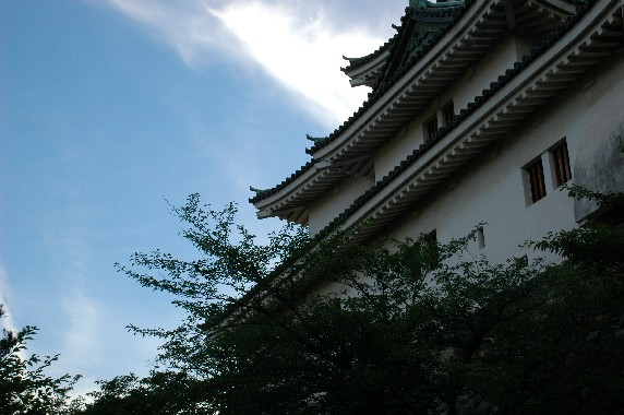 和歌山城と雲  1_b0093754_0195856.jpg