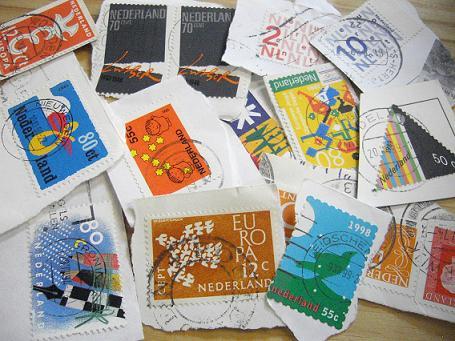 オランダの古切手_b0102217_15522981.jpg