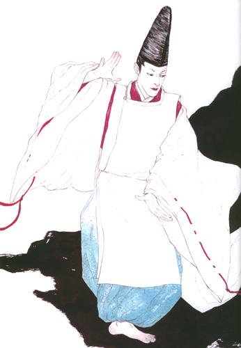 陰陽師 ~ 岡野玲子─難以抓摸的水中之月─安倍晴明_c0073742_2242052.jpg