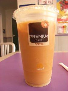 マクドナルドでもアイスコーヒーが発売開始_f0088456_7193540.jpg