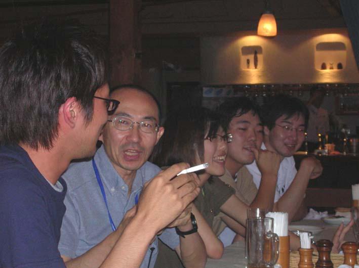 東海大学河井ゼミの皆さんと「驛の食卓」で懇談_c0014967_9411220.jpg