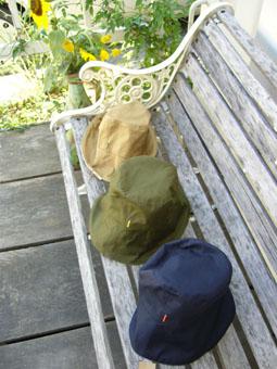 NORA TORAリバーシブル帽子追加製作出来ました!_e0035344_14232877.jpg