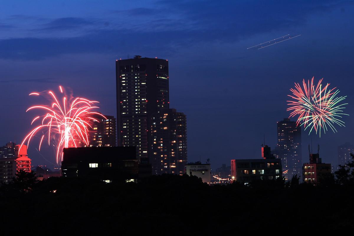 大阪 天神祭り/花火 1_f0021869_23525644.jpg