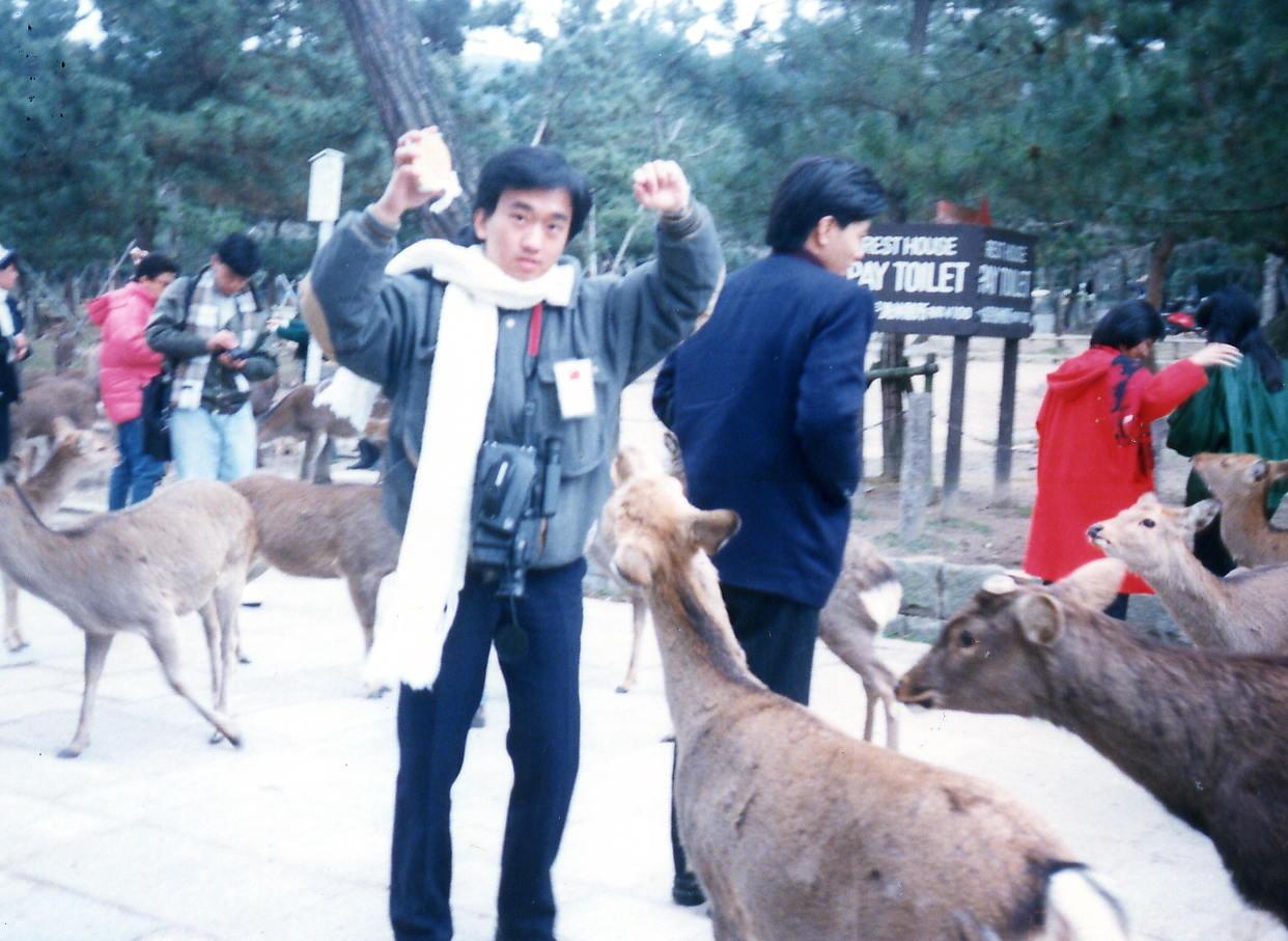 奈良公園の鹿_d0077719_15124993.jpg
