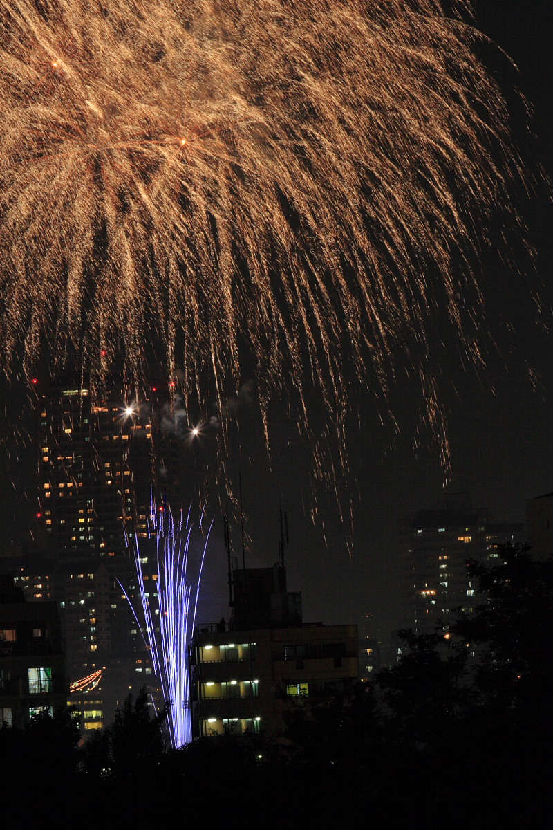 大阪 天神祭り/花火 2_f0021869_23352478.jpg