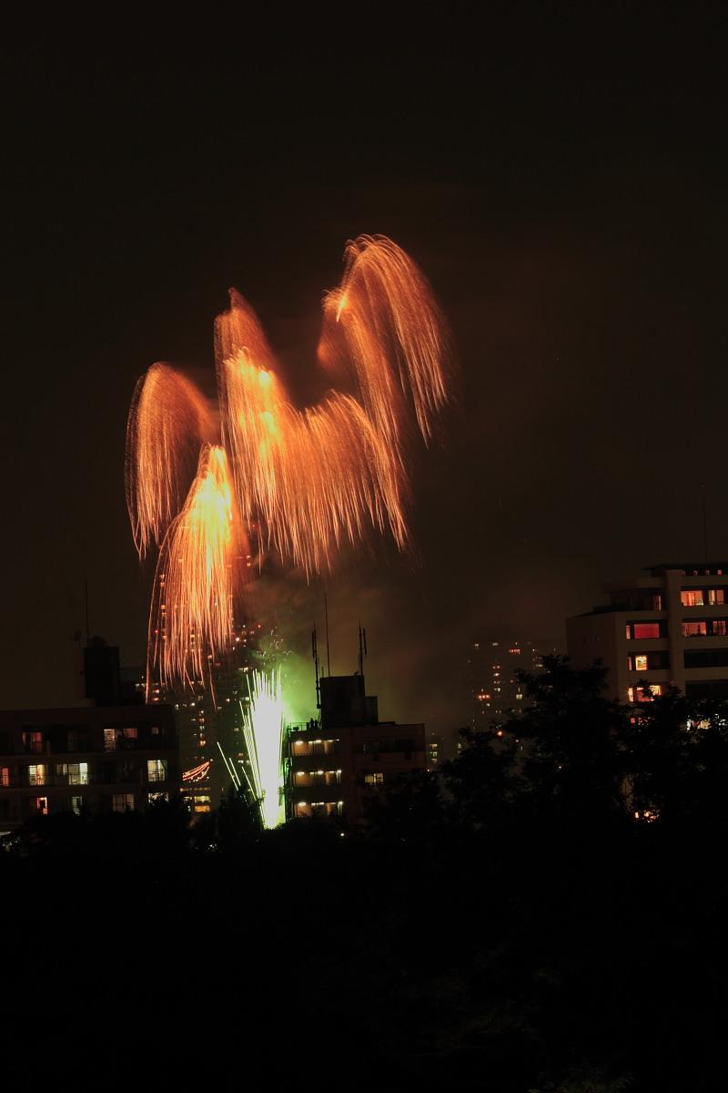 大阪 天神祭り/花火 2_f0021869_23434974.jpg