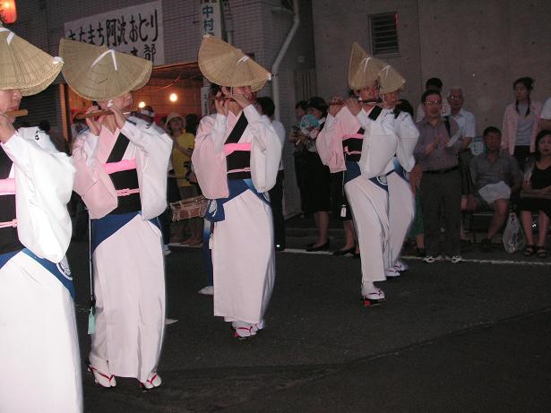 わが町の阿波踊り_a0050728_16282578.jpg