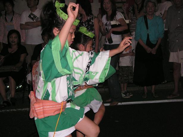 わが町の阿波踊り_a0050728_16312385.jpg