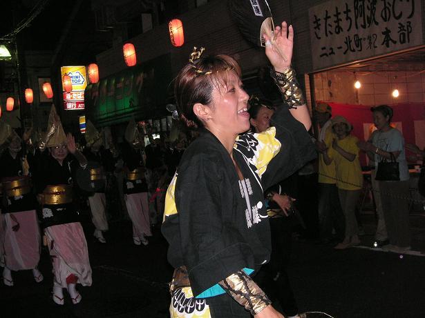 わが町の阿波踊り_a0050728_16342410.jpg