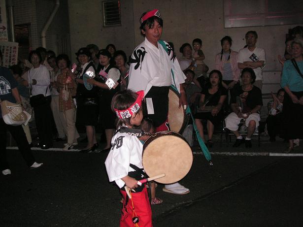 わが町の阿波踊り_a0050728_16394032.jpg