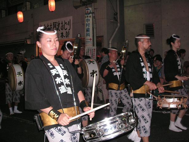 わが町の阿波踊り_a0050728_16425120.jpg