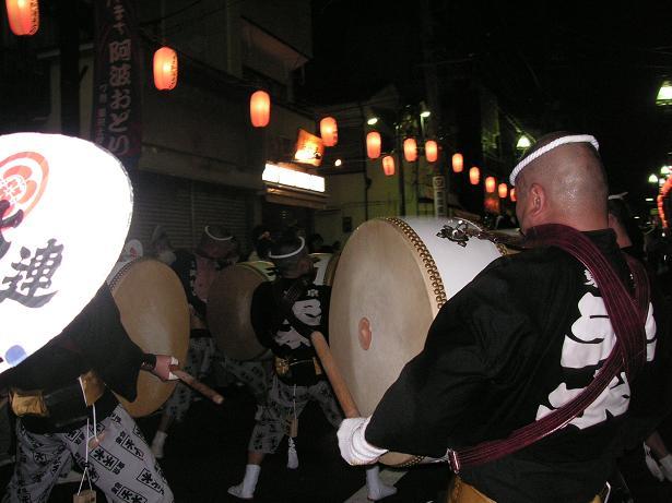 わが町の阿波踊り_a0050728_16431548.jpg