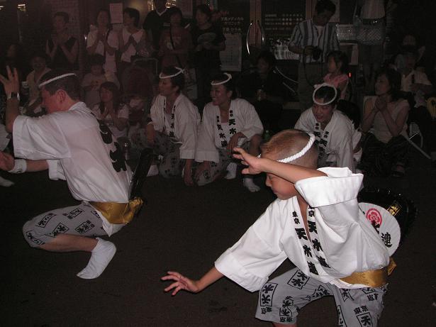 わが町の阿波踊り_a0050728_16434944.jpg