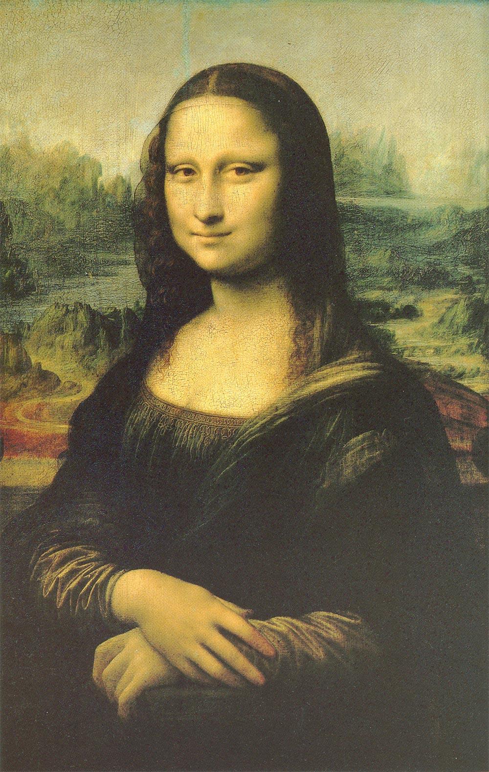 レオナルドの眼(4)永遠の謎――解き放たれぬ微笑の呪縛(美の美)_d0066343_0153482.jpg