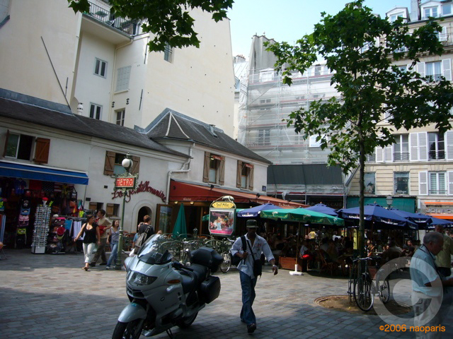 ■サンミッシェル(パリ)のキャフェLA GENTILHOMMIERE_a0014299_17594128.jpg