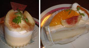『リヨン』のケーキたち