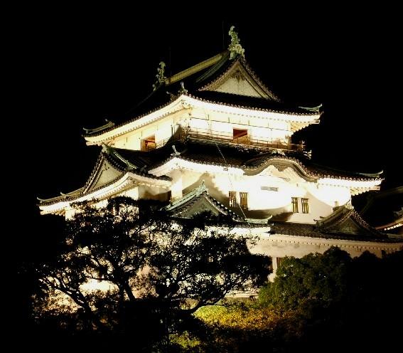和歌山城 ライトアップ  6_b0093754_025569.jpg