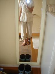リネンのワンピ&かご巾着・おやじの夏休みpart1_e0086738_14868.jpg