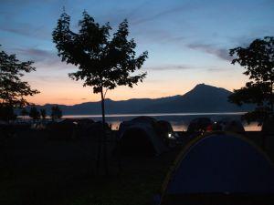 支笏湖キャンプ_e0075356_1183016.jpg