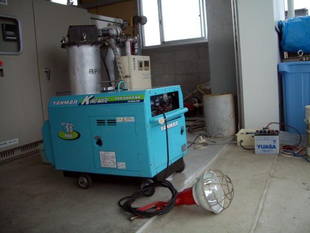最新の木質バイオマス発電装置で、ビンテージ発動機を動かす!?_d0079522_12381081.jpg