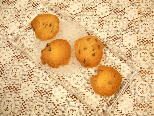 今日のおやつはCHOCOLATE CHIP COOKIES。。。.゚。*・。♡ _a0053662_1535220.jpg