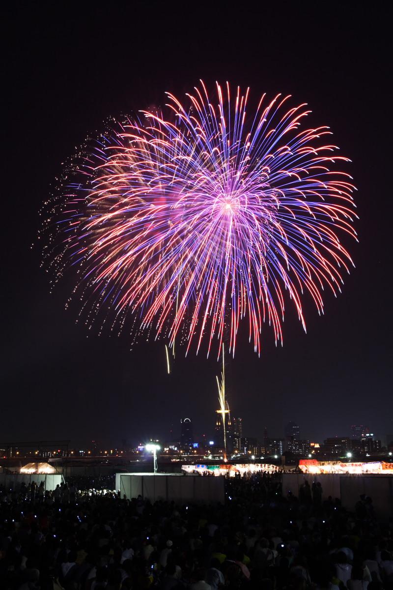 第18回 なにわ淀川花火大会 2_f0021869_23584535.jpg