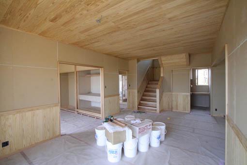 八郎潟の家11:完成直前_e0054299_9175360.jpg