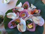 「草津市立水生植物公園 みずの森」の蓮料理_e0002086_9292868.jpg