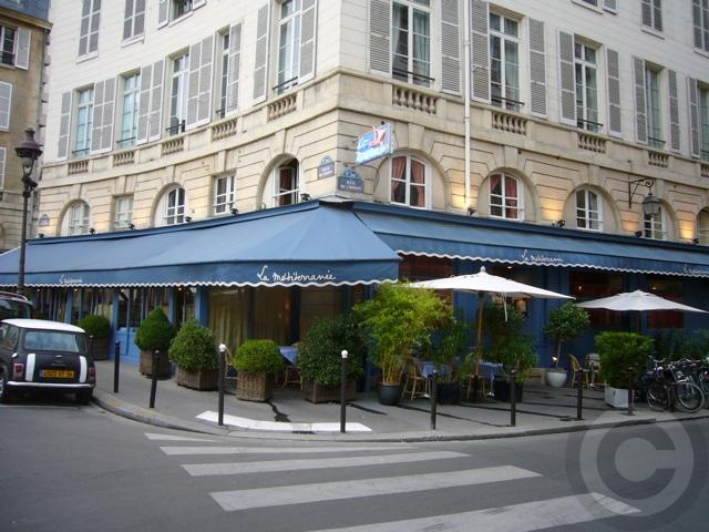 ■8月のパリのキャフェ&レストラン_a0014299_22411944.jpg
