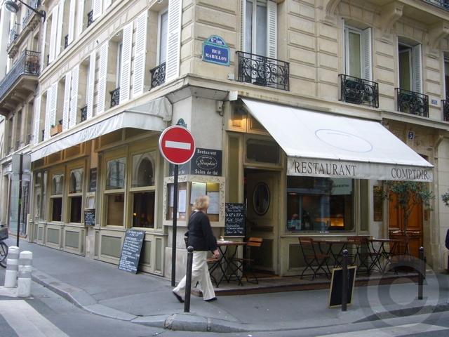■8月のパリのキャフェ&レストラン_a0014299_22422850.jpg