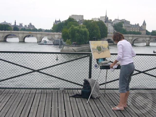 ■パリの橋から(8月)_a0008105_14142286.jpg