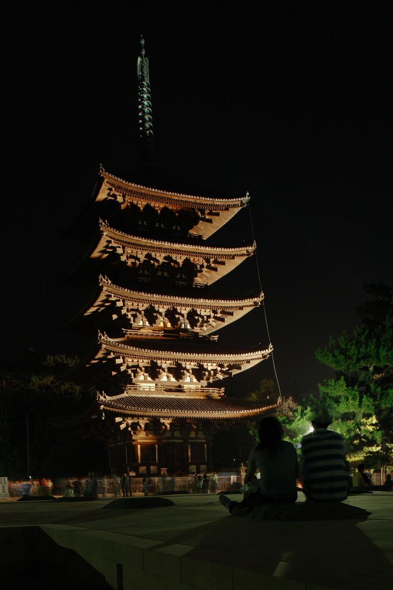 奈良 興福寺 ライトアップ_f0021869_1017922.jpg