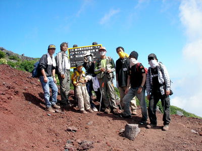 富士山登山 5_f0053254_9575483.jpg