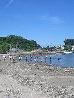 """夏だ!海だ!(その2)・・・""""地曳網""""だぁ~!!!_c0001578_8522815.jpg"""