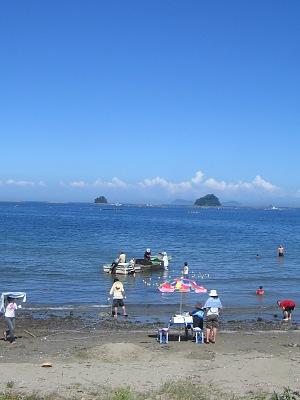 """夏だ!海だ!(その2)・・・""""地曳網""""だぁ~!!!_c0001578_8534738.jpg"""