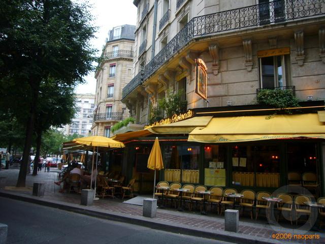 ■パリ、モンパルナス界隈のキャフェ&レストラン_a0014299_9391495.jpg