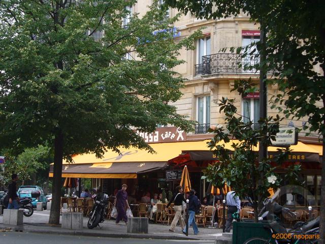 ■パリ、モンパルナス界隈のキャフェ&レストラン_a0014299_9394095.jpg