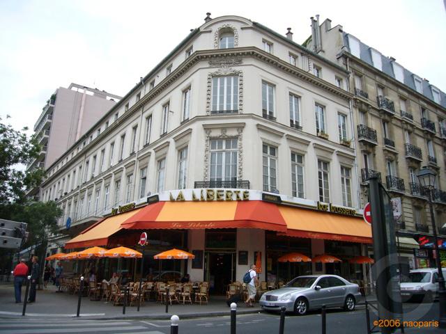 ■パリ、モンパルナス界隈のキャフェ&レストラン_a0014299_940138.jpg