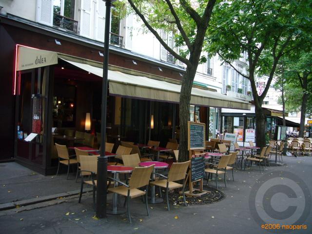■パリ、モンパルナス界隈のキャフェ&レストラン_a0014299_9402445.jpg