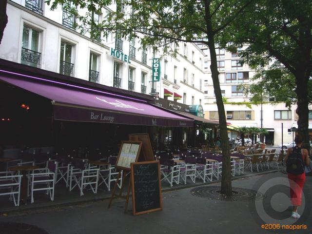 ■パリ、モンパルナス界隈のキャフェ&レストラン_a0014299_9405120.jpg